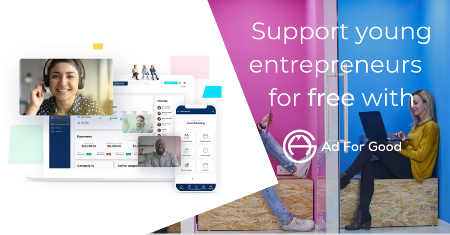 Support young entrepreneurs for free with vcita 👩‍💻