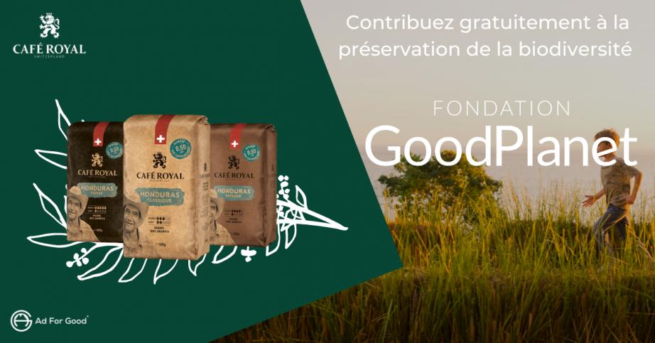 Contribuez gratuitement à la préservation de la biodiversité en Ethiopie avec Café Royal 🌳