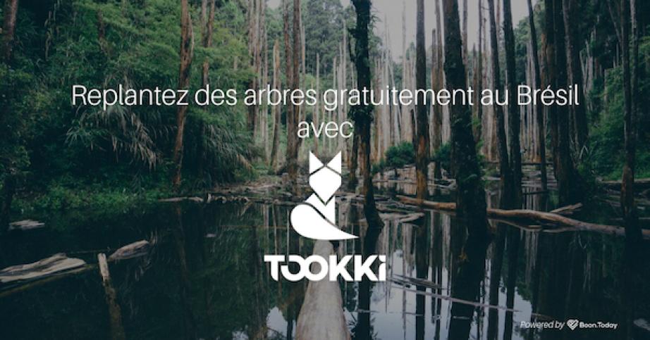 Replantez des arbres au Brésil grâce à l'application Tookki, le City Guide 3.0